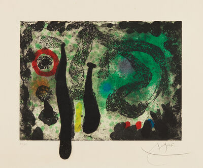 Joan Miró, 'Le Jardin de mousse (The Moss Garden)', 1968