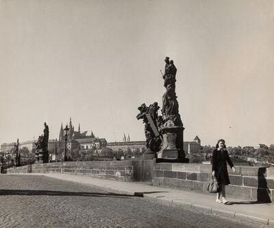 Robert Capa, 'Charles Bridge over Vlatava River, Prague', 1940s
