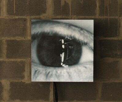 Nitemind, 'Untitled [One-Panel Eye]', 2018