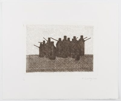 Keith Coventry, 'Crack Pipes (sepia) ', 2006