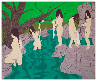 Yves Tessier, 'Ghost Bathers 2', 2017