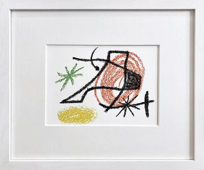 Joan Miró, 'Bouquet de rêves pour Neila X (rot)', 1967