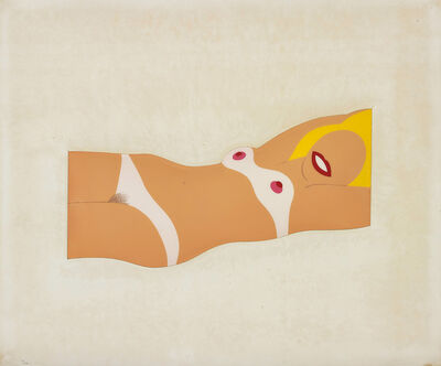 Tom Wesselmann, 'Cut-Out Nude, from 11 Pop Artists, Volume I', 1965