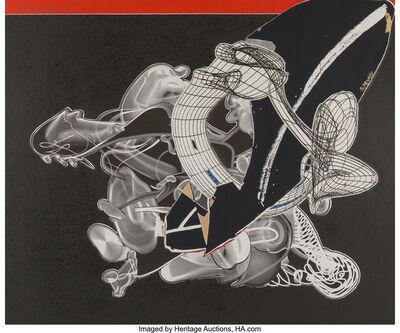 Frank Stella, 'Schwarze Weisheit for DJ', 2000