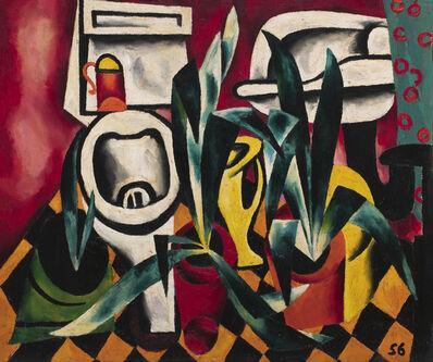 Oleg Tselkov, 'Flush toilet and agaves', 1956