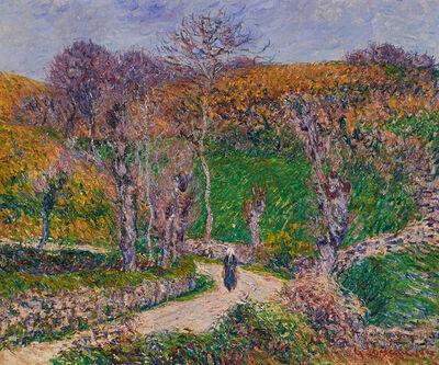 Gustave Loiseau, 'Paysage de Bretagne, Pont Aven', 1903