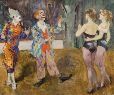 Francis Luis Mora, 'Untitled (Circus Scene)'