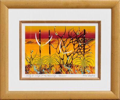 Peter Coad, 'Study - Wings of the morning Tanamai' Mixed media  $2,100', 2013-2014