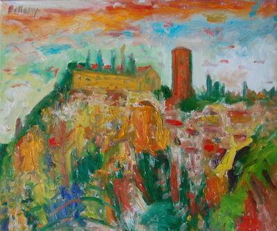 John Bellany R.A., 'Monastery on the hill, Tuscany', ca. post 2000