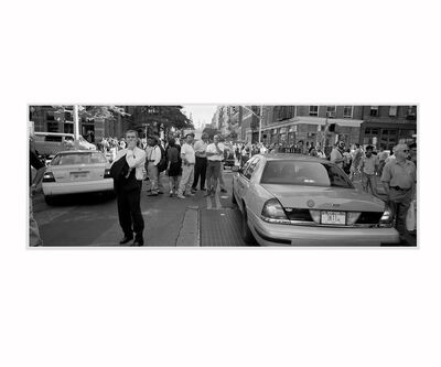 Adam Wiseman, '9/11 after the fall of the Twin Towers #1, Taxi', 2001