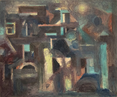 Maurice Golubov, 'Promenade', 1952