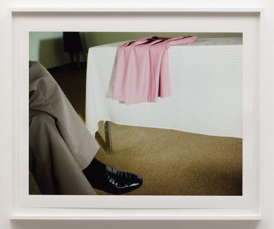 Jo Ann Callis, 'Man with Black Shoe', 1979