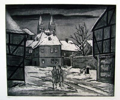 Emil Ganso, 'Halberstadt III', 1929