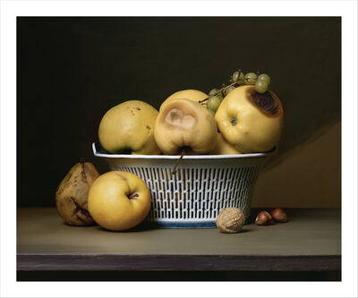 Sharon Core, 'Apples in a Porcelain Basket', 2007