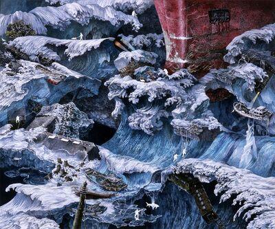 Ikeda Manabu, 'Ice Stream (Episode from Foretoken)', 2009