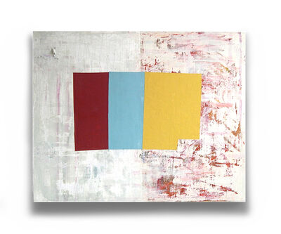 jean feinberg, 'R/Y/B (Abstract painting)', 2001