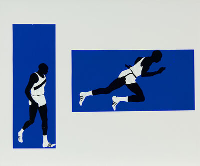 Idelle Weber, 'Push (Diptych)', 1968
