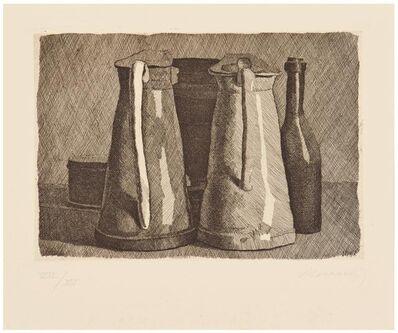 Giorgio Morandi, 'Natura morta con 5 oggetti', 1956