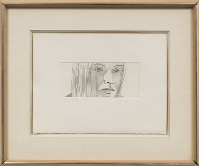 Alex Katz, 'Kasha (from June Ekman's Class)', 1972