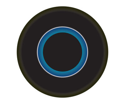 Ruth Adler, 'Black and Blue Circle'