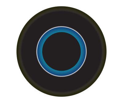 Ruth Adler, 'Black and Blue Circle'