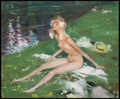Jean Gabriel Domergue, 'Le Bain de Soleil'