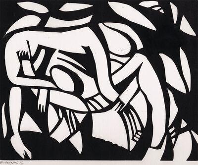 Henri Gaudier-Brzeska, 'Wrestler', c.1914