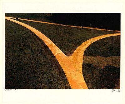 Christo and Jeanne-Claude, 'Wrapped Walk Ways'