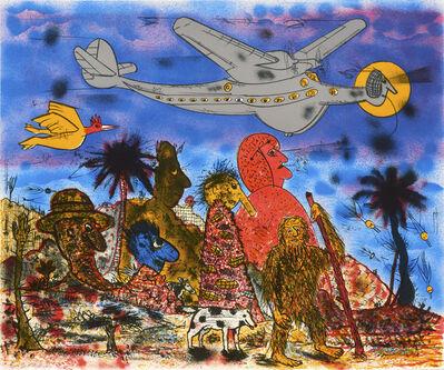 Roy De Forest, 'Primeval Times', 1994