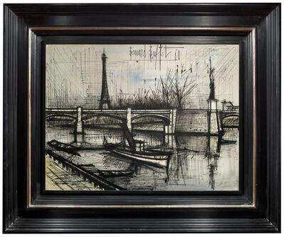 Bernard Buffet, 'La Tour Eiffel et le Pont de Grenelle', 1960