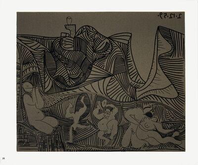 Pablo Picasso, 'Bacchanale au Hibou', 1962