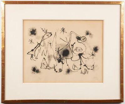 Joan Miró, 'Album 13: Plate 1', 1948