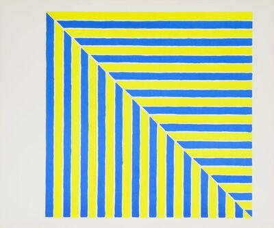 Frank Stella, 'Untitled (Rabat) (from Ten Works x Ten Painters)', 1964