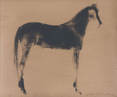 Joe Andoe, 'Horse X 12 (Gold Reversal)', 1995