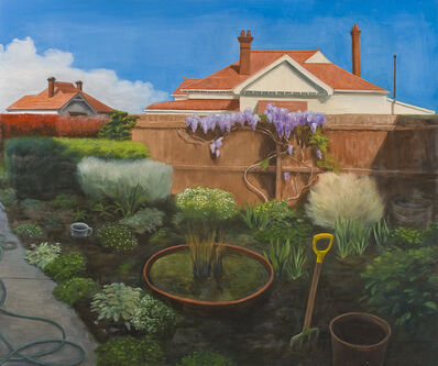 Kristin Headlam, 'Me, the Gardener', 2001