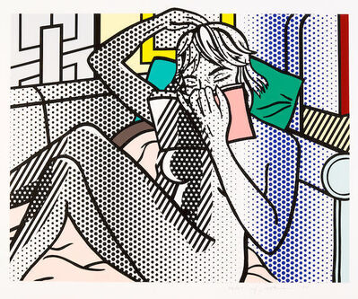 Roy Lichtenstein, 'Nude Reading, from the Nude Series (C. 288)', 1994