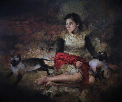 Ricardo Fernández Ortega, 'Tres Miradas de Mujer', 2018