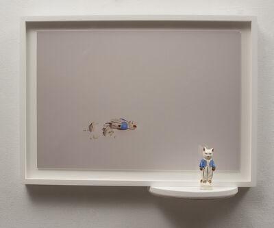 Liliana Porter, 'Reconstruction - Cat With Blue Vest', 2015