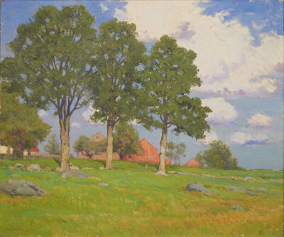 Charles Warren Eaton, 'A Day in Summer'