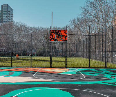 Ludwig Favre, 'New York Basketball Court 2'