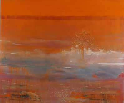 Brian Frink, 'Orange Wave', 2015
