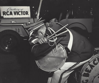Weegee, 'And the band played on, Hollywood', ca. 1951