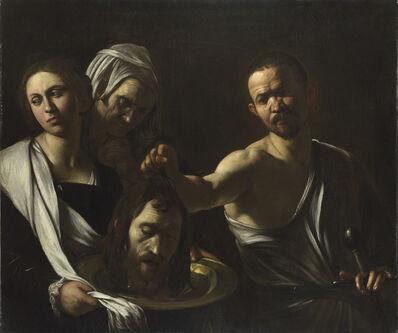 Michelangelo Merisi da Caravaggio, 'Salome receives the Head of John the Baptist ', 1609-1610