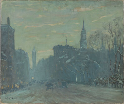Arthur Clifton Goodwin, 'Late Afternoon, Boylston Street, Boston'