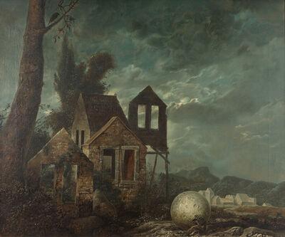 Samuel Bak, 'Nocturne', 1970