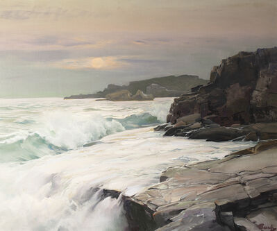 Frederick Judd Waugh, 'Mist Moon', Date Unknown.