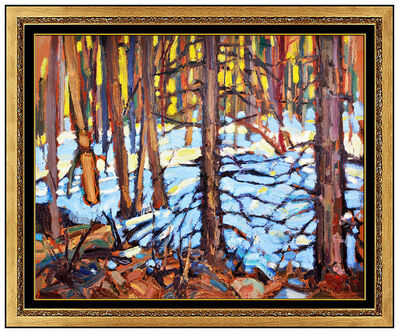 John William Beatty, 'Winter Woodlands', 20th Century