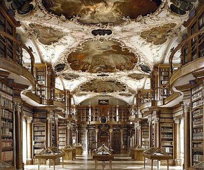 Massimo Listri, 'Biblioteca dell'Abbazia, St. Gallen', 2002