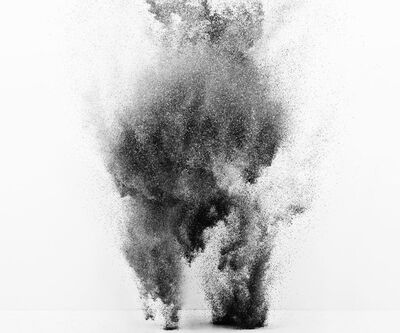 Yee Wong, 'Exploding Powder Movement: Black and White'