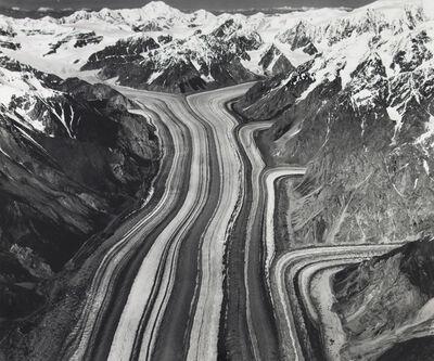 Bradford Washburn, 'Barnard Glacier and Mount natazhat from the South, Alaska', 1938
